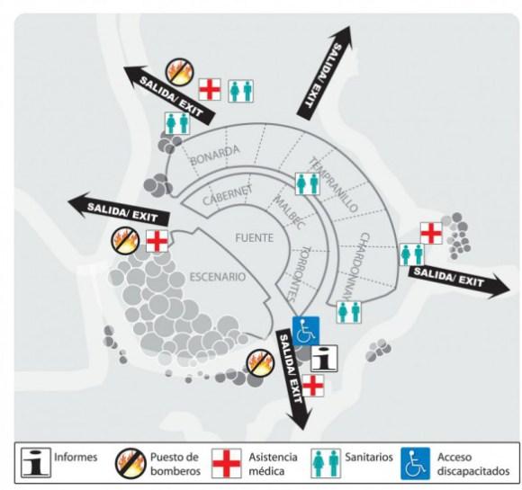 Sectores-del-Anfiteatro-Frank-Romero-Day
